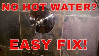 No Water In Shower Only by Fixing A Single Handle Shower Fixture With No Water
