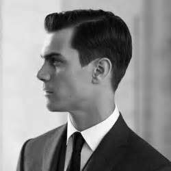 the gentlemen s haircut the side part haircut a classic gentleman s hairstyle
