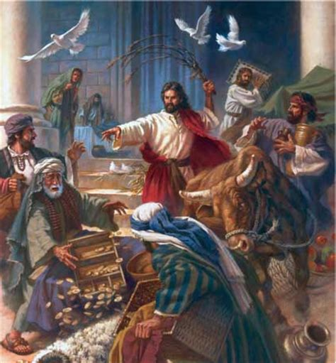jesus cleanses the temple quakerthink cleansing the temple