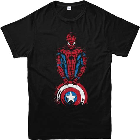 Captain Tshirt t shirt captain shield t shirt inspired design
