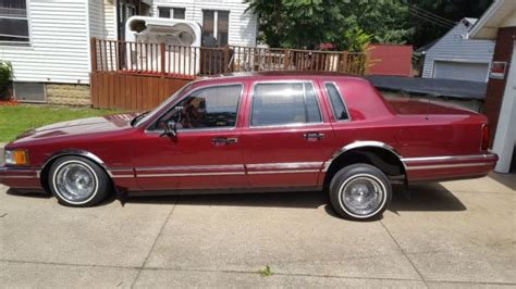 how cars run 1990 lincoln town car electronic throttle control 1990 lincoln town car lowrider clean