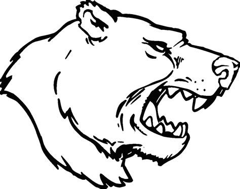 bear head cliparts free download clip art free clip