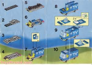 Stud Io Building Instructions by Lego 6661 Mobile Tv Studio Set Parts Inventory And