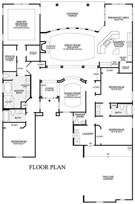 23 spectacular single story open floor plans house plans pin by joan lafave on floor plans pinterest
