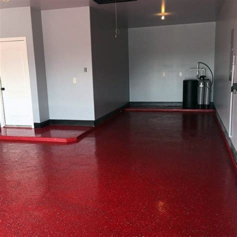 red floor paint 90 garage flooring ideas for men paint tiles and epoxy