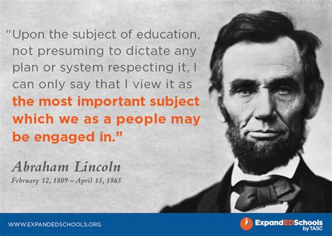 when is abe lincolns birthday abraham lincoln quotes on education quotesgram