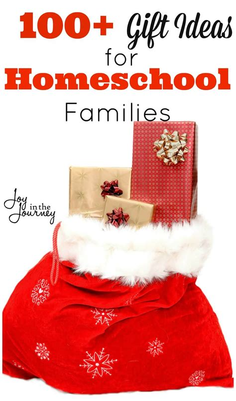 100 christmas gift ideas for homeschool families joy