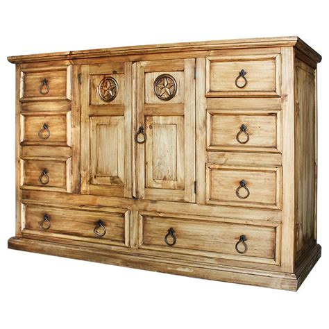 Dresser Rustic by Rustic Pine Collection Tonalastar Dresser Com524