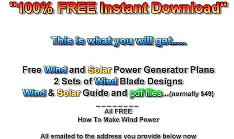 how to make wind power generators