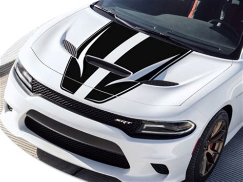 2015 2017 charger hellcat rally stripes graphics kit