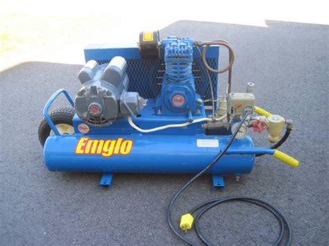 air compressor emglo wheelbarrow  manchester