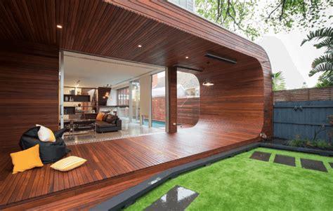 beautiful backyard wooden patio ideas