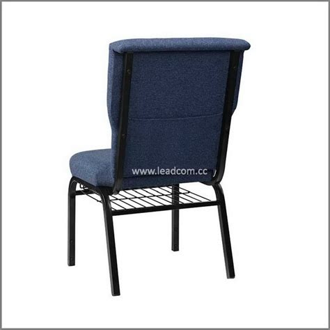 Padded Stackable Chairs by Leadcom Fabric Padded Stackable Interlock Church Chair Ls