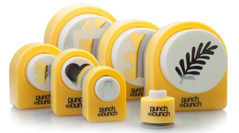 Papercraft Punches - craft punches accessories punch bunch