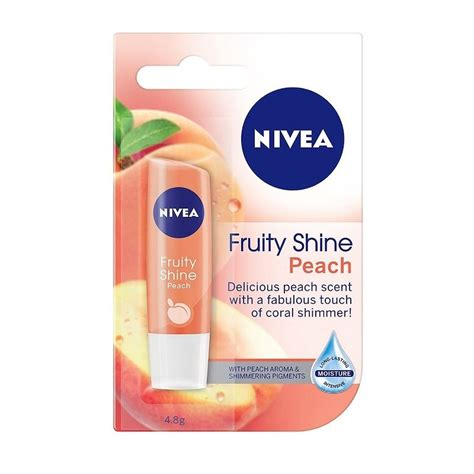 Lipice Nivea Fruit Shine Murah nivea fruity shine lip balm 4 8g 1 2 3 6 12 packs ebay