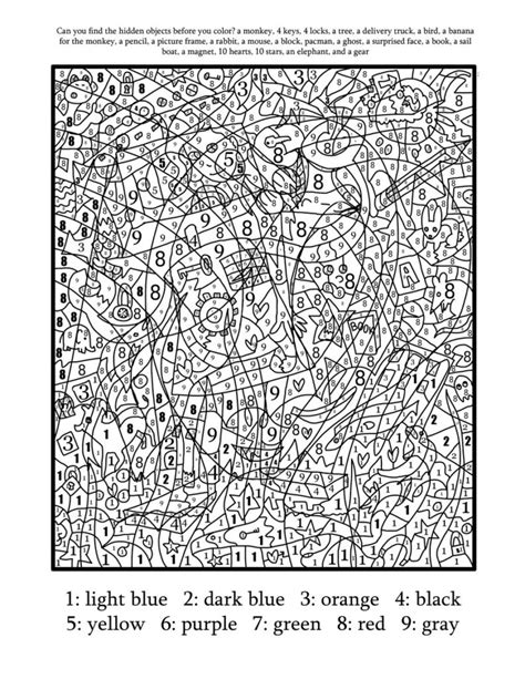number pattern coloring pages http colorings co advanced color by number coloring