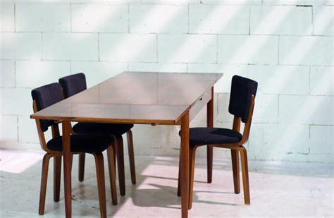 Century Plywood by Retro Vintage Palissander Eettafel Jaren 60 Uitschuifbaar
