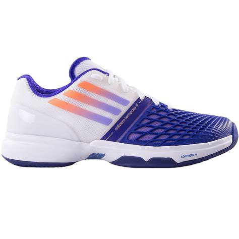 adidas womens tennis shoes adidas adizero tempaia iii s tennis shoe white purple