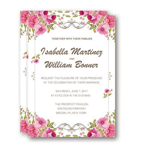 paper flower wedding invitation cheap fabulous floral rustic wedding invitation wip032 wedding invitations wedding invites paper