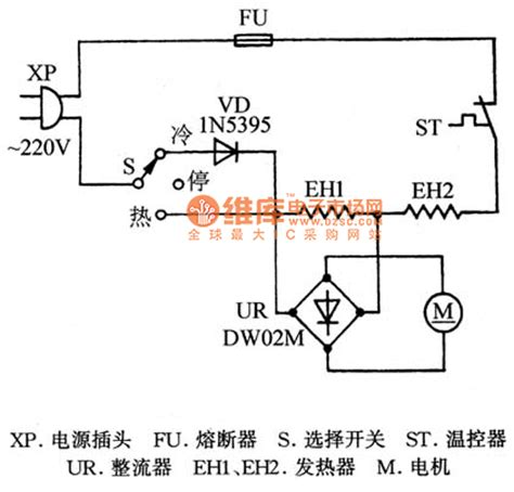 Diagram Kelistrikan Hair Dryer poko td 169c hair dryer circuit diagram electrical