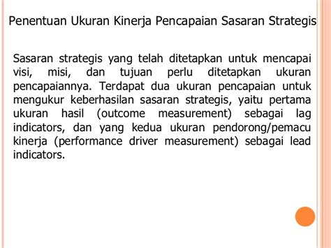 Performance Measurement Ukuran Kinerja 23 chapter 11 evaluasi dan pengawasan