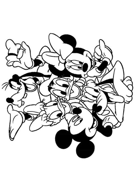 mickey mouse clubhouse coloring pages mickey mouse clubhouse coloring pages for free