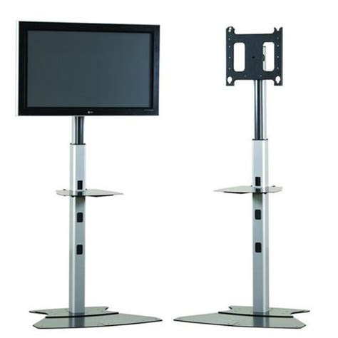 Ergonomics Standing Desk by Height Adjustable Tv Stand For 30 Quot To 55 Quot Flat Panel
