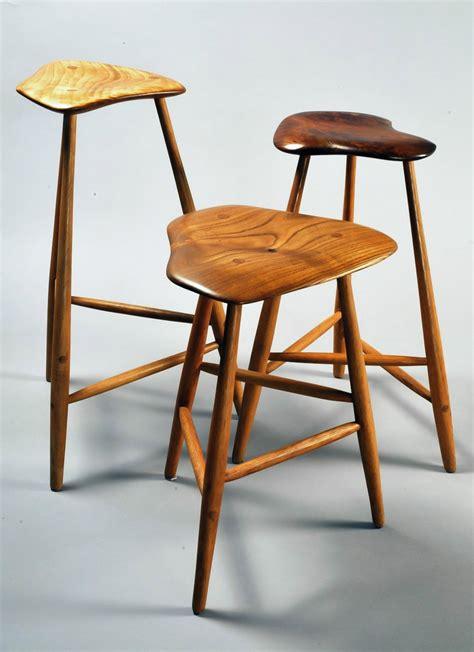 Three Legged C Stool by Scandinavian Collectors Wharton Esherick Three Legged