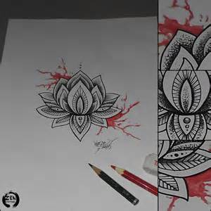 Lotus Mandala Design Mandala Lotus Design By Blazeovsky On Deviantart