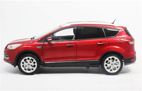 Ford Kuga 2015 Suv Model In Scale 1 18 White 1 1 18 scale model ford kuga 2013 2014 2015 original diecast model car gifts toys collectibles