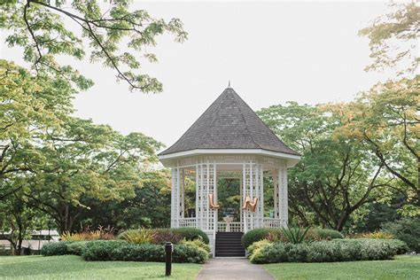 Halia Botanical Garden And Li Hang S Soiree At Villa Halia Singapore Botanic Gardens Singaporebrides