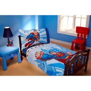 Superman toddler bedding set reversible batman comforter sheet set dc