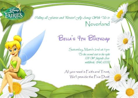 printable invitations tinkerbell 219 best invitaciones images on pinterest invitations