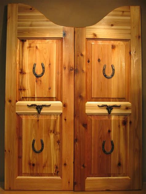 Bar Doors Custom Full Length Cafe Doors Saloon Interior Barn Door Cafe