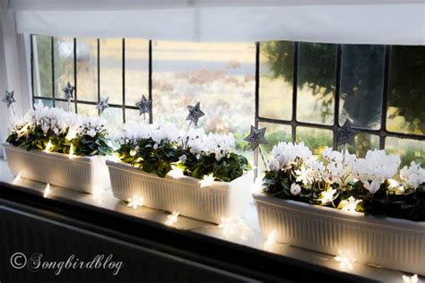 window sill christmas decorations window sill decorations for songbird