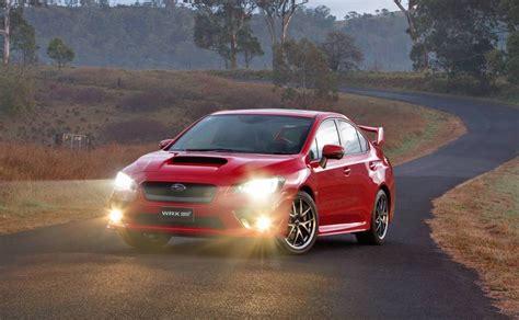 2016 subaru wrx sti on sale in australia from 38 990