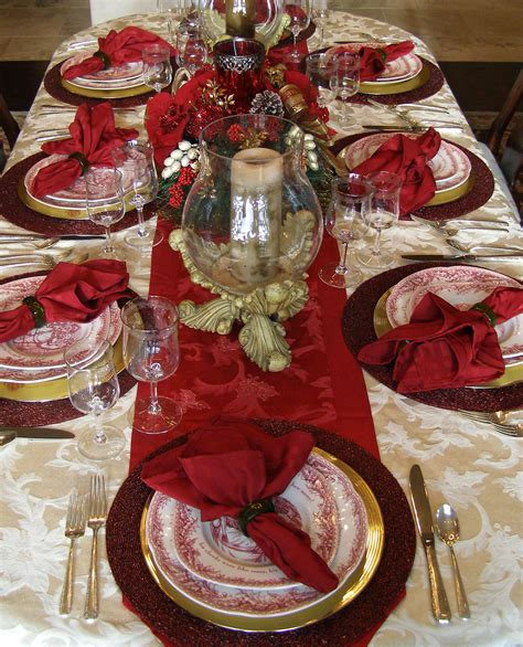 christmas table settings christmas table decoration instyle fashion one