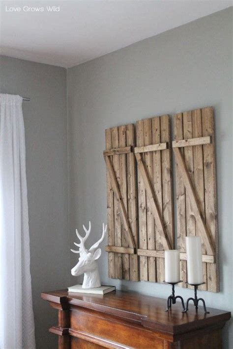 Shutter Wall Decor by Best 25 Shutter Wall Ideas On