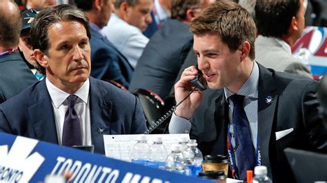 maple leafs promote kyle dubas 32 to general manager