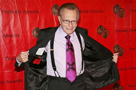 To Be Interviewed By Larry King by Post City Larry King In Toronto For Stage Show