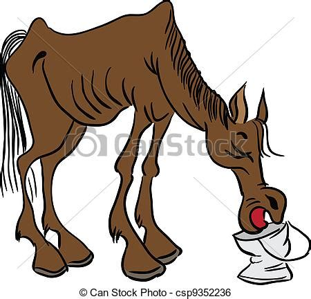 cavallo clipart cavallo magro cavallo illustration cowboy acqua