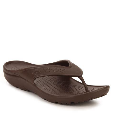 crocks slippers crocs brown slippers price in india buy crocs brown
