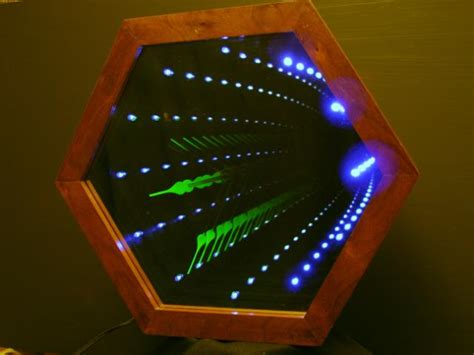 Infinity Light by Transparent Two Way And One Way Mirrors From Reflection