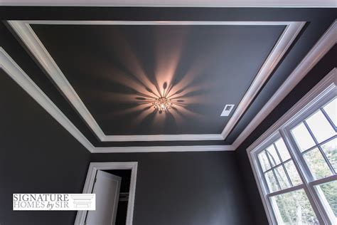 Tray Ceiling Trim Ideas crown molding tray ceiling design ideas pictures remodel and decor ask home design