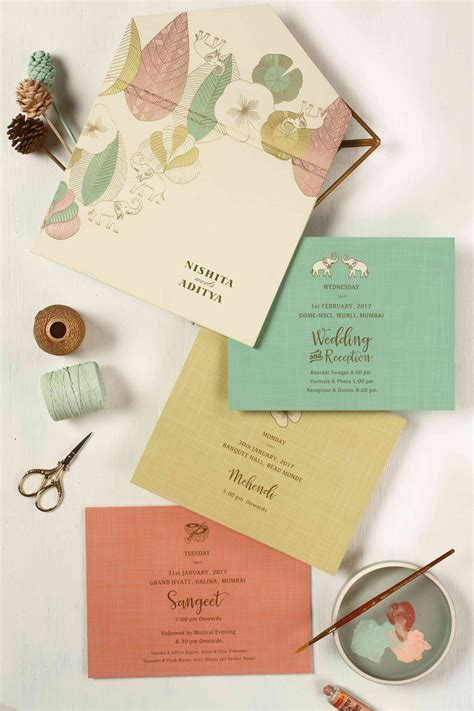The Best Indian Wedding Card Designs We've EVER Seen