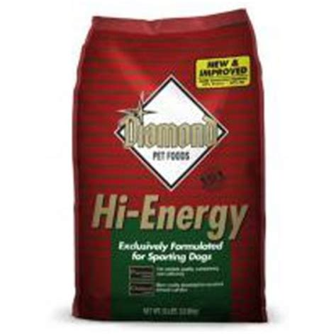 diamond hi energy adult dog food by diamond at mills fleet diamond 174 hi energy formula for dogs powell feed