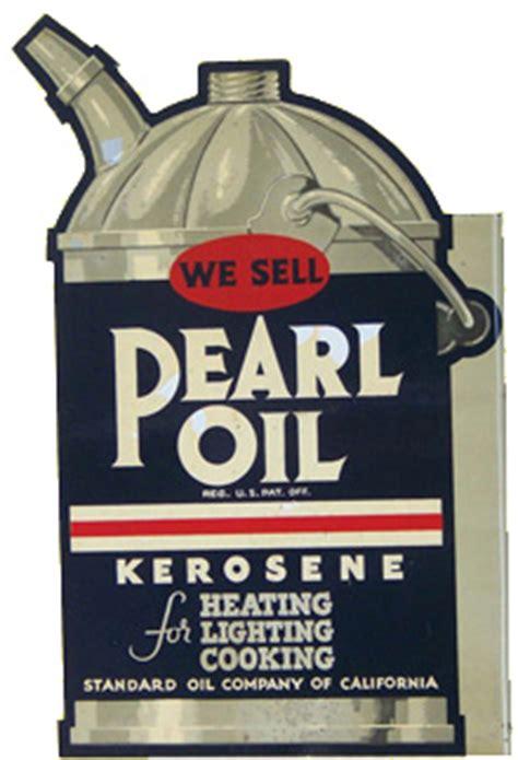 pearl oil kerosene can sign | antique advertising value