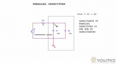 capacitive reactance in parallel calculator capacitance and capacitive reactance youspice