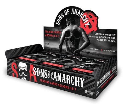 sons of anarchy trading cards seasons 6 amp 7 cryptozoic