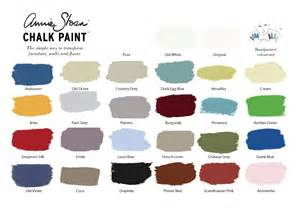 chalk paint colors sloan chalk paint colours for painting furniture and